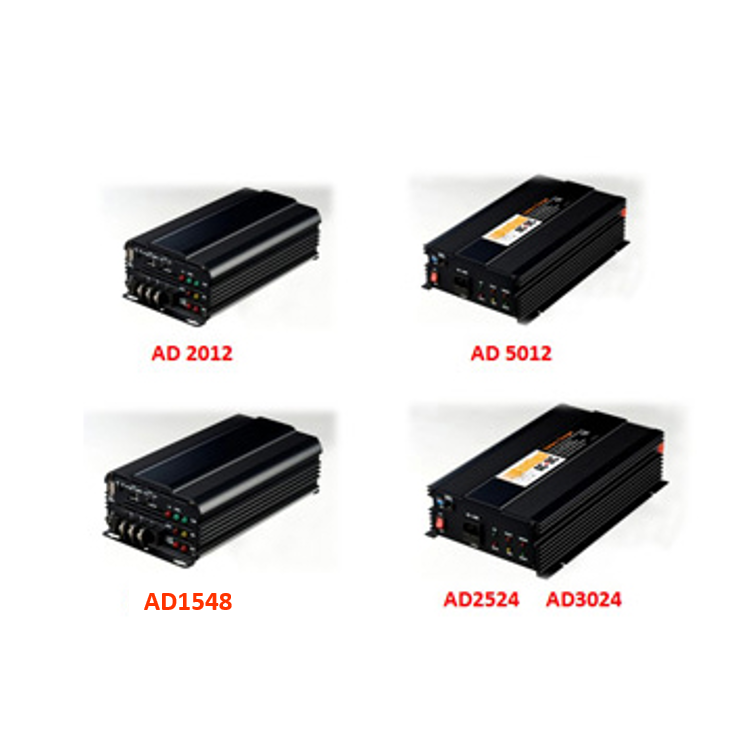 battery charger series, up to 50AH, smart CPU control, safe for battery