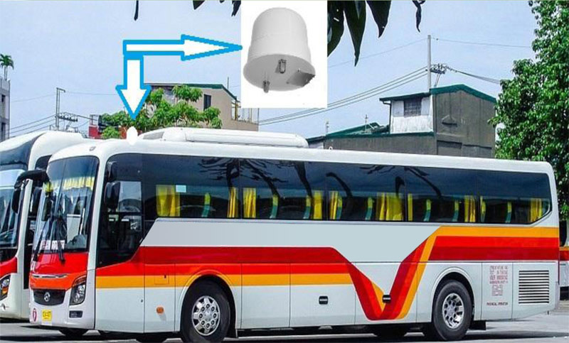 LTE industrial Router for ATM bank and Bus app - Hotware